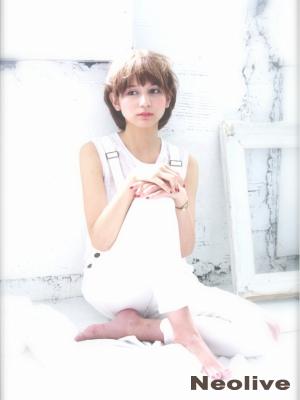 【neolive7】外国人風ショートスタイル