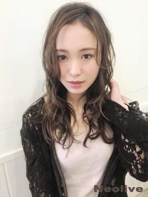 濡れ髪パーマ