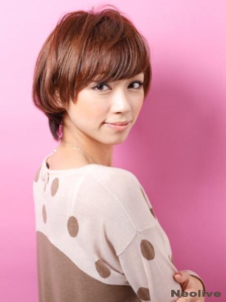 ☆前髪ありのショートヘア☆