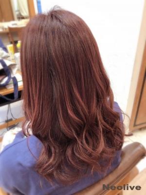 イルミナ×艶ピンクカラー