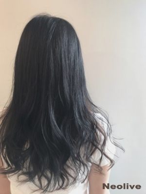 Neolive ora 黒髪×ハイライト