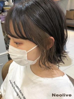 ナチュラルなイヤリングカラー 20代30代 横浜駅