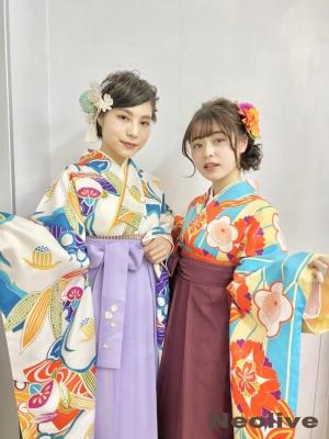 卒業式袴着付け❤︎2021年度東神奈川❤︎