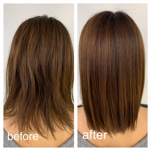 髪質改善でキレイに。 中板橋 美容室 neolive north