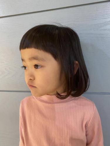 七五三が終わってさっぱりキッズカット★【SAE】