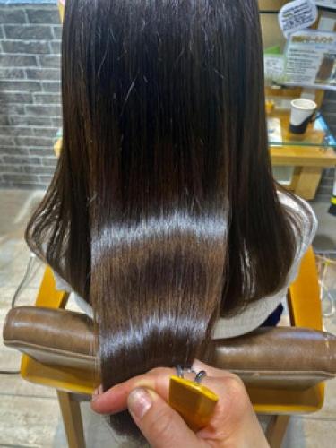 12月は自分へのご褒美にツヤ髪に。。。【SAE】