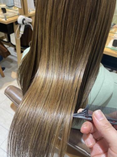 髪質改善トリートメントで髪も絶好調☆【SAE】