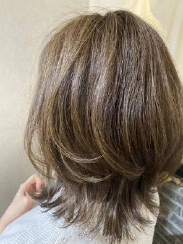 白髪は黒くしない、ぼかしハイライト【SAE】