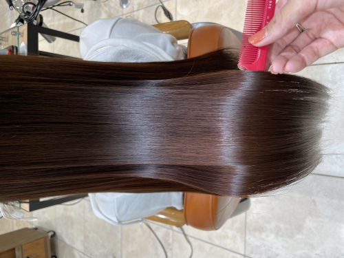 超音波アイロン*髪質改善トリートメント