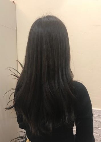 酸熱トリートメント まとまりのある髪へ!