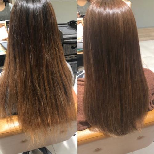髪質改善!