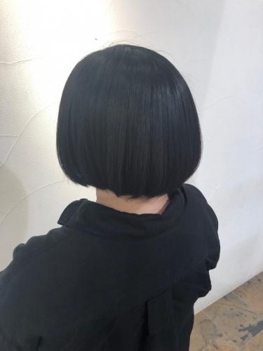 ボブスタイル×酸熱トリートメント☆高田馬場 美容室 酸熱 髪質改善トリートメント