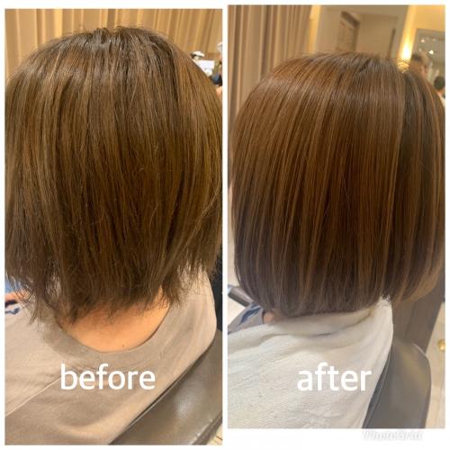 酸熱で髪質改善☆高田馬場 美容室 酸熱 髪質改善トリートメント