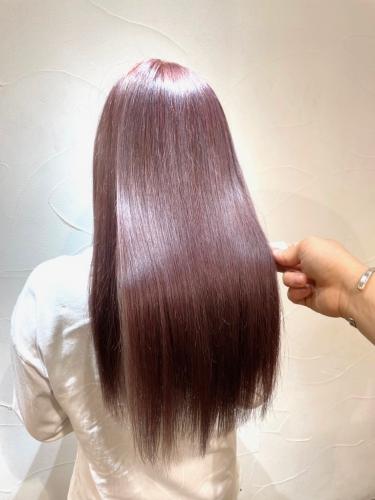 髪質改善の酸熱トリートメントで艶髪に☆高田馬場 美容室