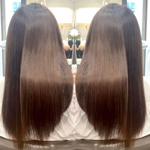 今流行りの艶髪に◎髪質改善の酸熱トリートメント☆高田馬場 美容室