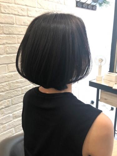 色気が上がる耳かけボブ☆高田馬場 美容室 酸熱 髪質改善トリートメント