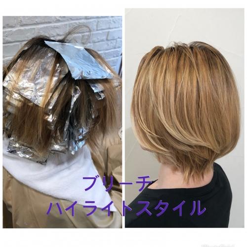 白髪でお悩みの方必見!ハイライトで白髪ぼかし◎高田馬場 美容室 酸熱 髪質改善トリートメント