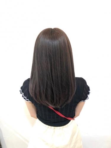 aobaのNo.1メニューの酸熱トリートメント☆高田馬場 美容室 酸熱 髪質改善トリートメント