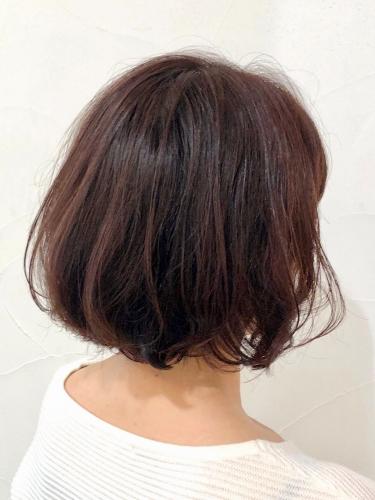 艶髪も◎大人可愛いボブスタイル☆高田馬場 美容室 酸熱 髪質改善トリートメント