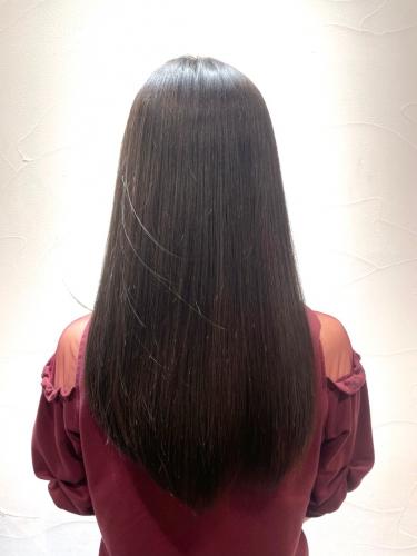 理想的なストレートヘアに◎酸熱トリートメント☆高田馬場 美容室 髪質改善
