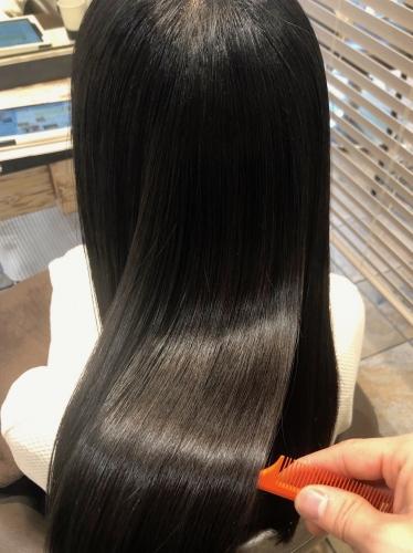 酸熱で綺麗な髪質に☆高田馬場 美容室 酸熱 髪質改善トリートメント