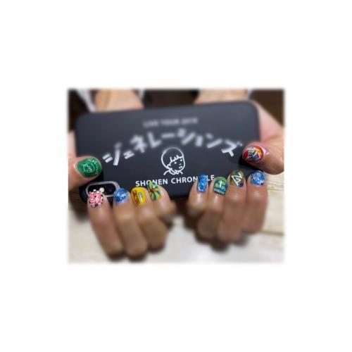 new nail ▼ 浅草 卒業式 袴