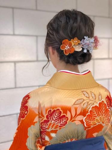 卒業式 ▼ 浅草 美容室 袴