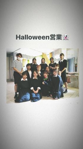 Halloween ▼ 浅草 美容室 卒業式