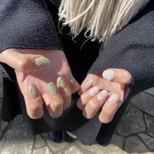 new nail ▼ 浅草 美容室 卒業式