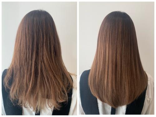 「髪質改善トリートメントで理想の艶髪に」