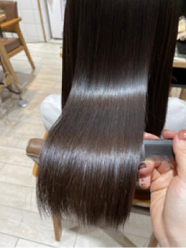 髪質改善トリートメントで憧れの艶髪【松尾菜々美】