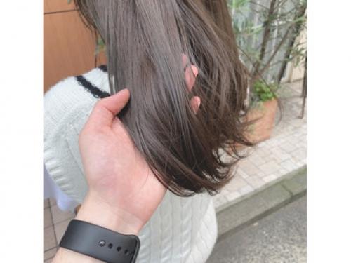 グレージュカラー☆ 透け感