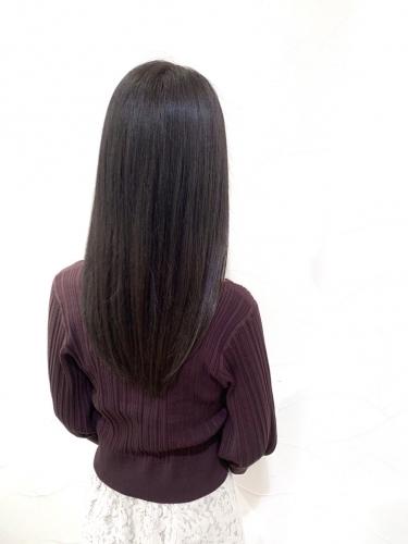 美髪メニュー☆ショコラブラウン×酸熱トリートメント☆高田馬場 美容室 髪質改善