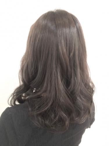 透明感カラー♪グレージュ☆高田馬場 美容室 酸熱 髪質改善トリートメント