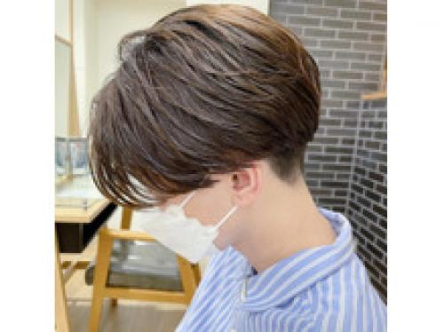 【横浜】女性目線で作るメンズカットパーマ