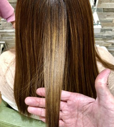 髪質改善 朝のお手入れが楽になります