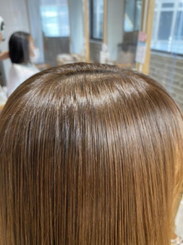 表面の細かい毛おさまりました!【m i o.】