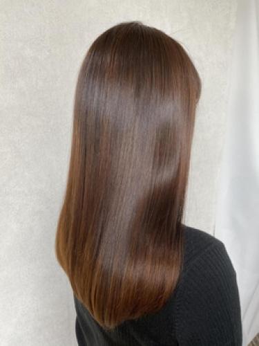 結ぶのがもったいなくなる髪の毛へ☆彡【m i o.】