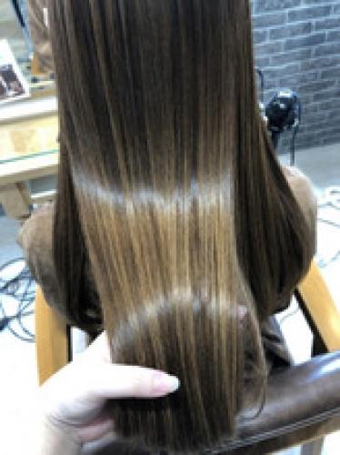 友達の髪の毛もツヤツヤ!【yuchi】