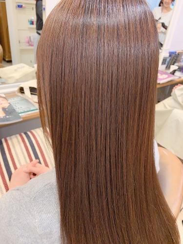 髪質改善トリートメント 酸熱トリートメント!