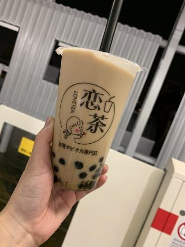 学芸大学 美容室 Neolive ora タピオカ!