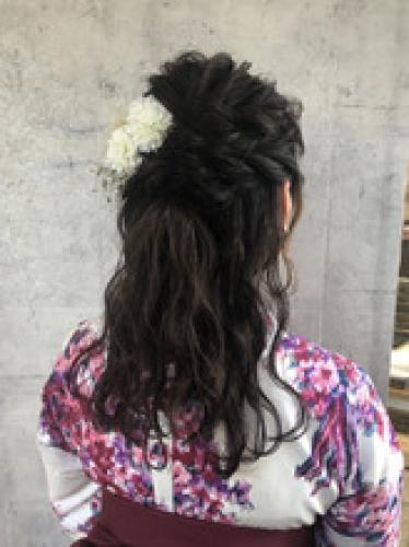 卒業式人気ヘアセット* 横浜 美容室