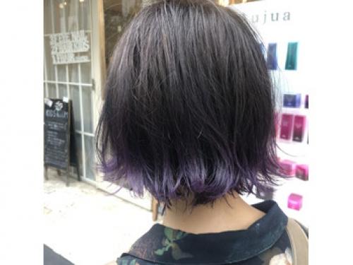 横浜★裾カラーパープル