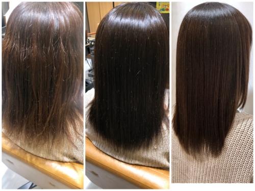 髪の広がり気になる方へ☆ 髪質改善♪