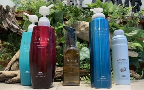 【選べるシャンプー】池袋美容室 キッズルーム Aujua acote 炭酸シャンプー 保育士常在