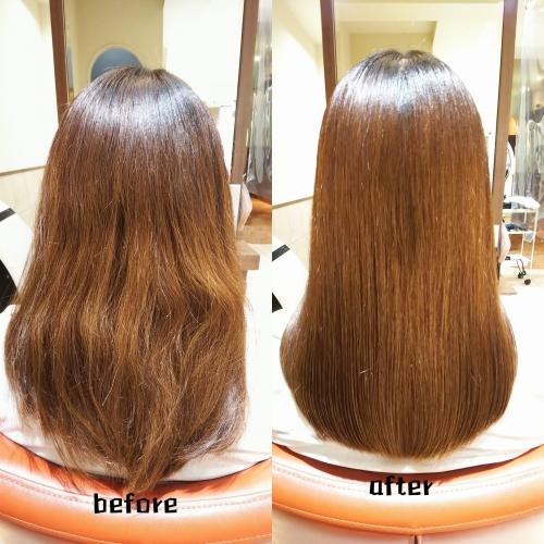 髪質改善酸熱とラメラメトリートメントで美髪☆