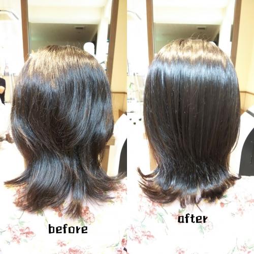 【髪質改善】ハホニコ酸熱トリートメントとラメラメトリートメントで美髪にしませんか☆