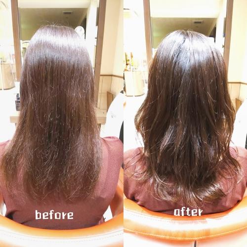 髪のメンテナンスでキレイに伸ばしましょう☆