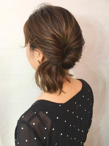 学芸大学 美容室 neoliveora  伸びっぱなしの髪も簡単アレンジで楽しもう♪