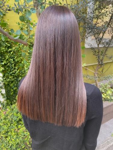 学芸大学 美容室 Neoliveora 髪質改善でつるつるに♪